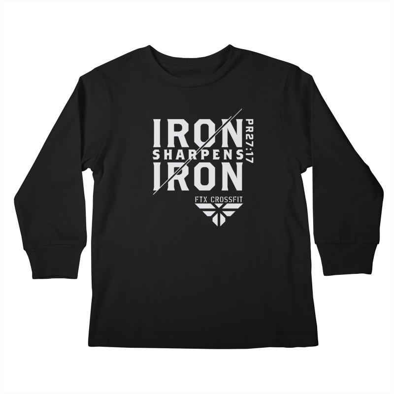 Iron Sharpens Iron 2018 (W) Kids Longsleeve T-Shirt by FTX CrossFit Store