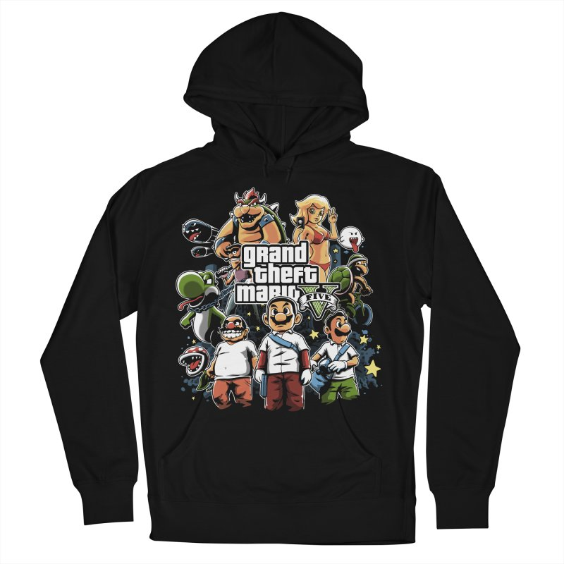 Grand Theft Plumber Men's Pullover Hoody by fuacka's Artist Shop