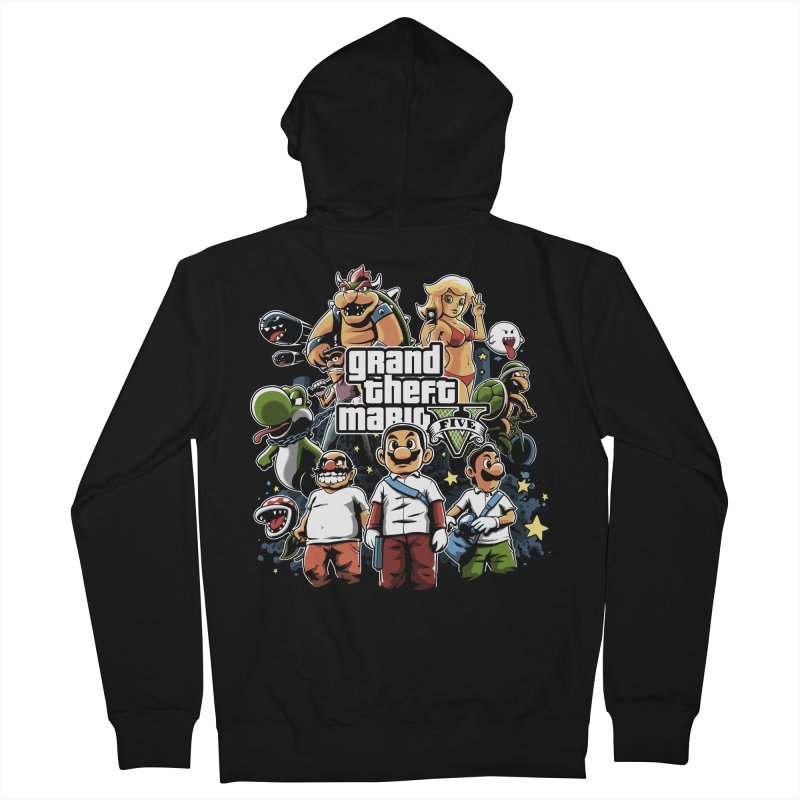 Grand Theft Plumber Women's Zip-Up Hoody by fuacka's Artist Shop