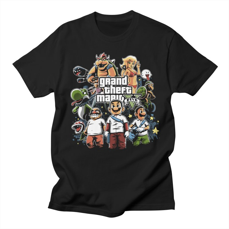 Grand Theft Plumber Men's T-shirt by fuacka's Artist Shop