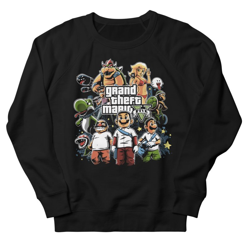 Grand Theft Plumber Men's Sweatshirt by fuacka's Artist Shop