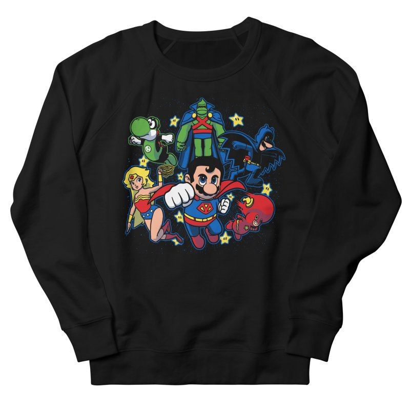Justice League Mushroom Men's Sweatshirt by fuacka's Artist Shop
