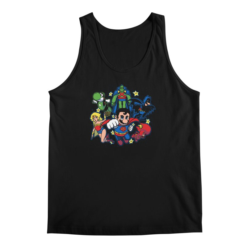 Justice League Mushroom Men's Tank by fuacka's Artist Shop