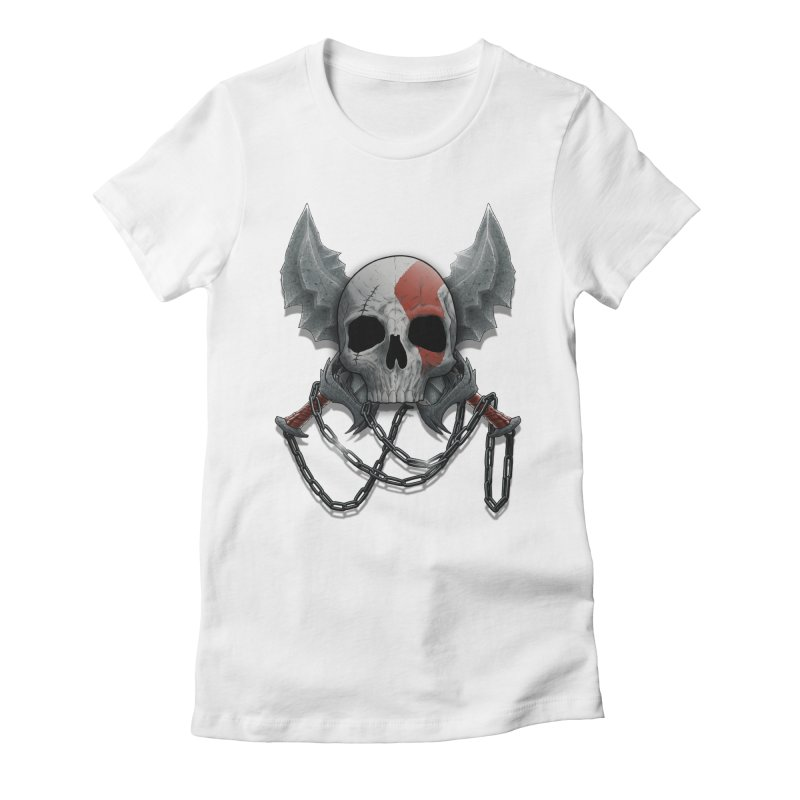 Vengeance Women's Fitted T-Shirt by fuacka's Artist Shop
