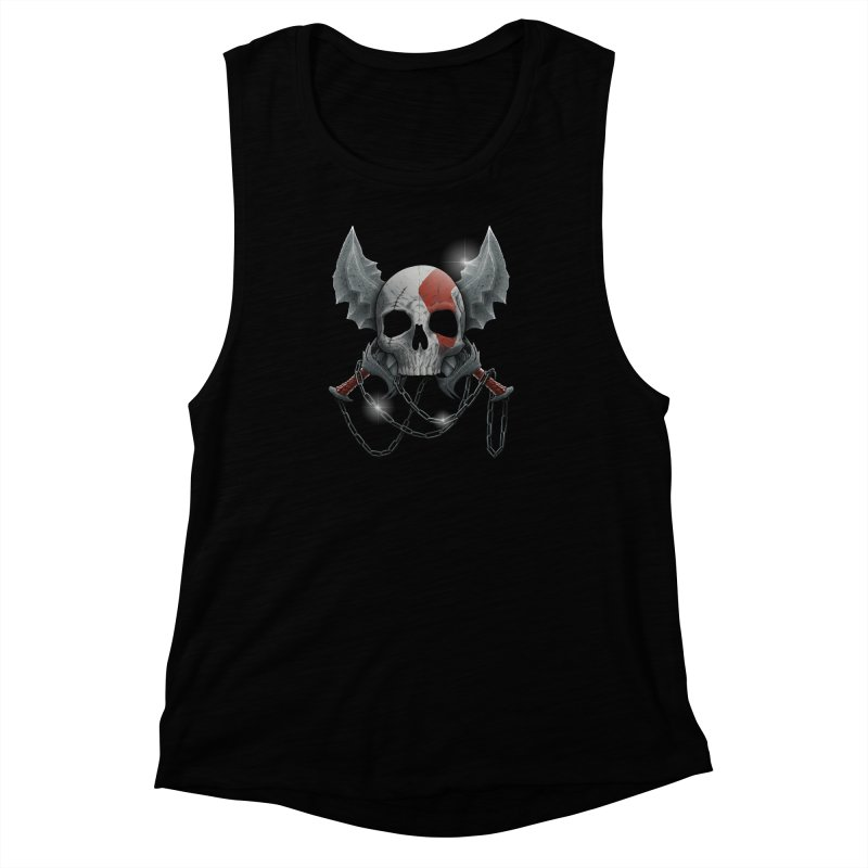 Vengeance Women's Muscle Tank by fuacka's Artist Shop