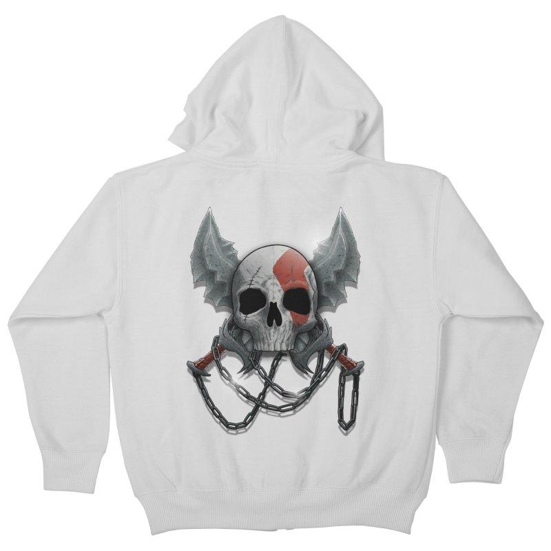 Vengeance Kids Zip-Up Hoody by fuacka's Artist Shop