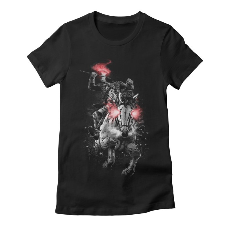 Sleepy Hollow Women's Fitted T-Shirt by fuacka's Artist Shop