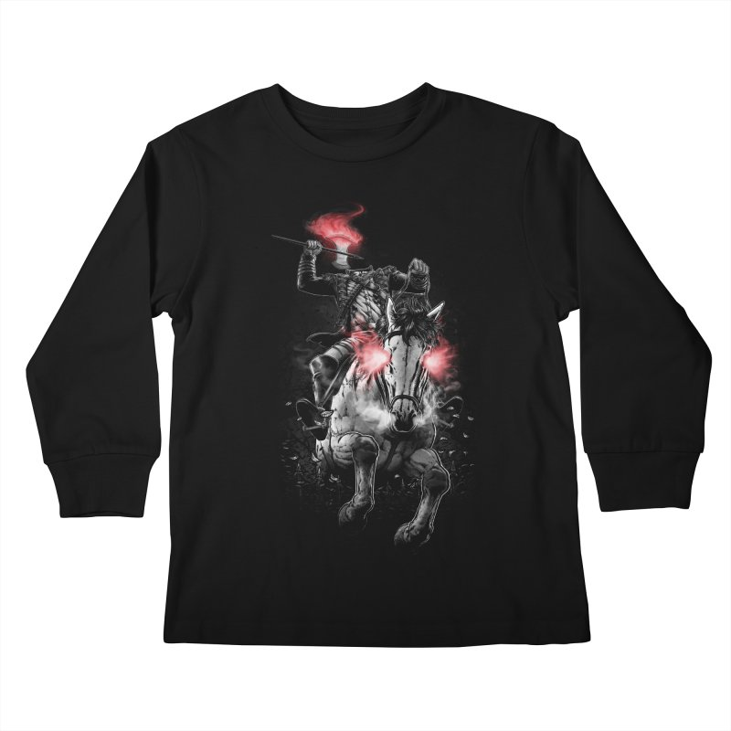 Sleepy Hollow Kids Longsleeve T-Shirt by fuacka's Artist Shop