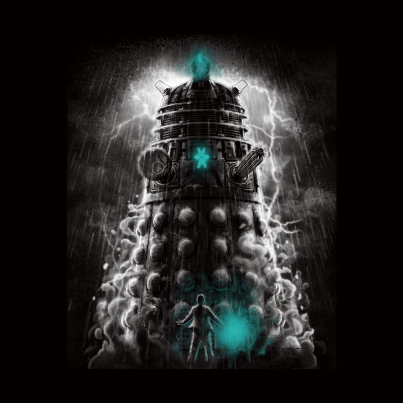 Shadow of the Dalek Women's Racerback Triblend Tank by fuacka's Artist Shop