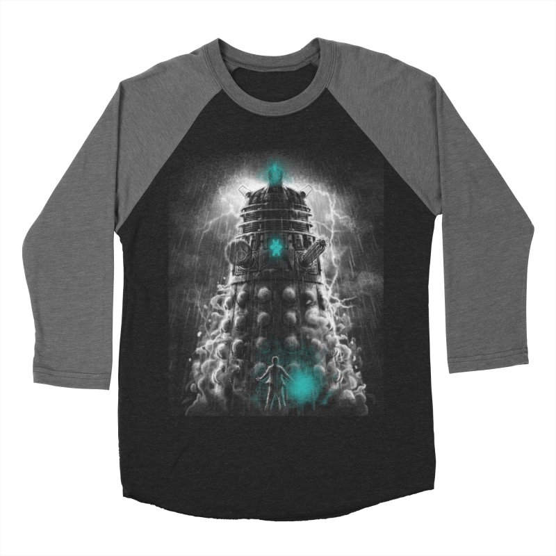 Shadow of the Dalek Men's Baseball Triblend T-Shirt by fuacka's Artist Shop