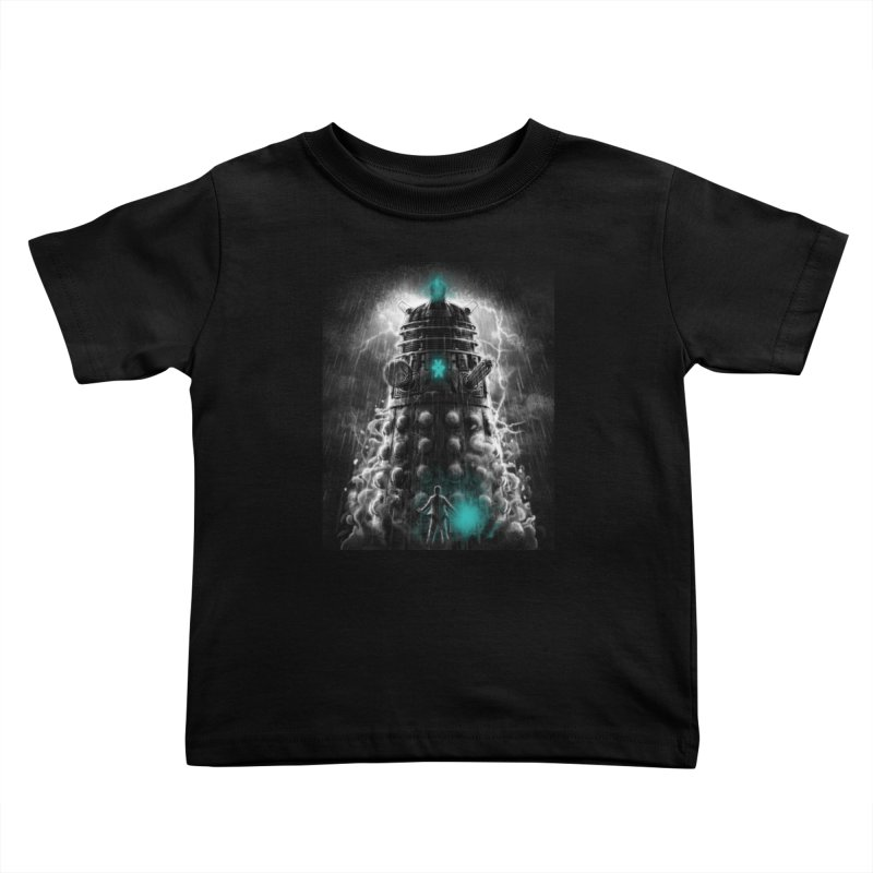 Shadow of the Dalek Kids Toddler T-Shirt by fuacka's Artist Shop