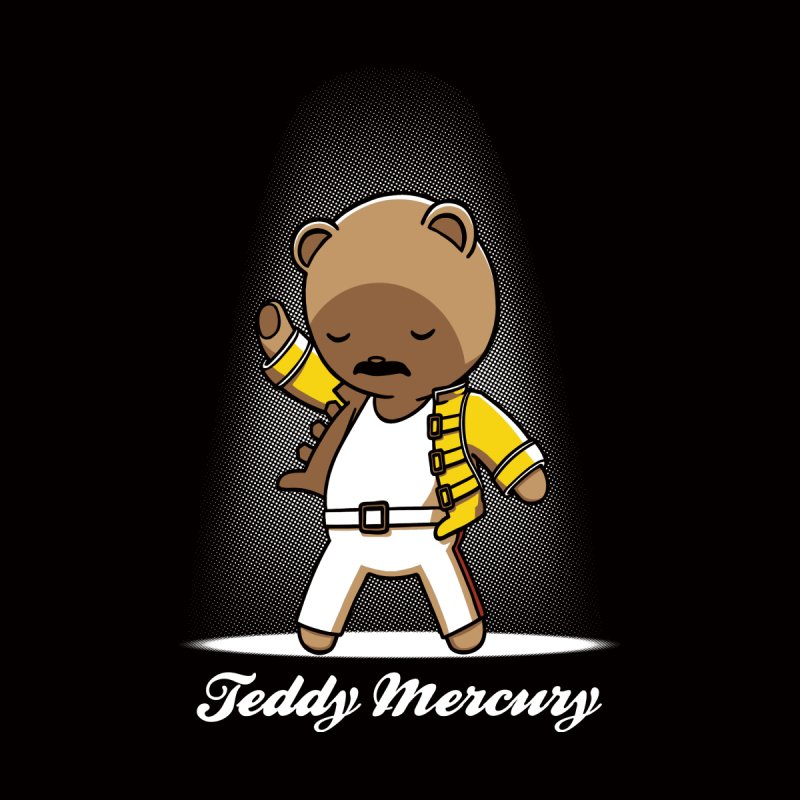 Teddy Mercury None  by fuacka's Artist Shop
