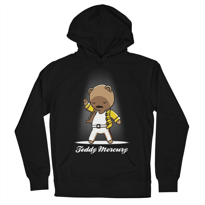 Teddy Mercury Men's Pullover Hoody by fuacka's Artist Shop