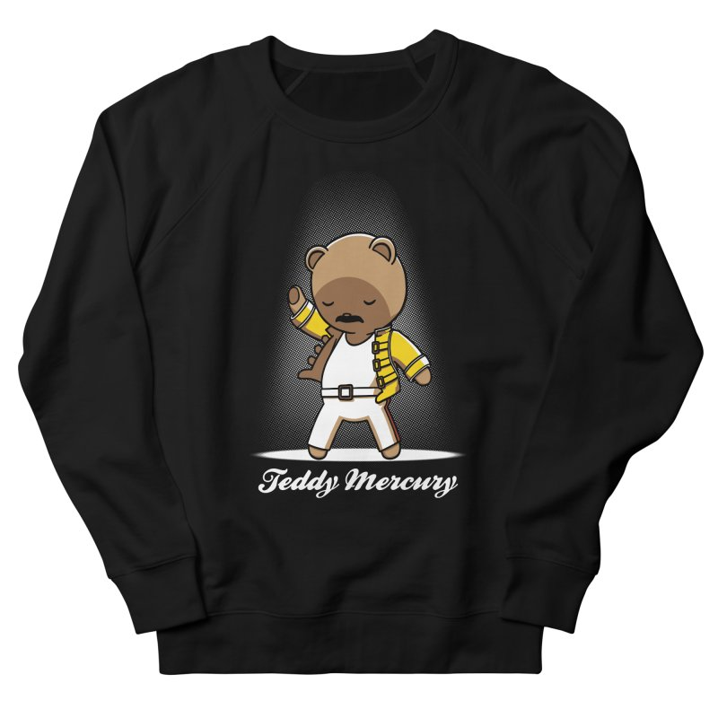 Teddy Mercury Women's Sweatshirt by fuacka's Artist Shop
