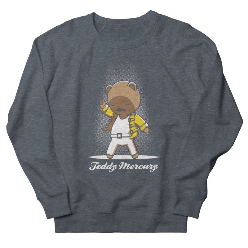 Teddy Mercury Men's Sweatshirt by fuacka's Artist Shop