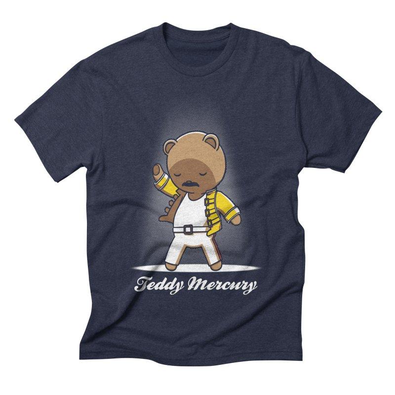 Teddy Mercury Men's Triblend T-shirt by fuacka's Artist Shop