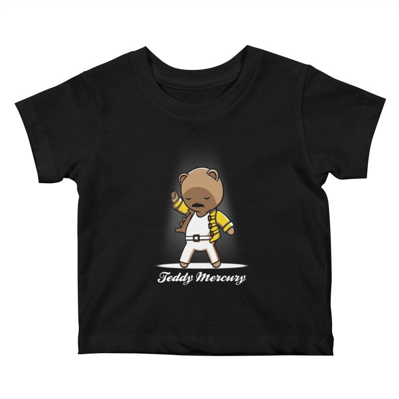 Teddy Mercury Kids Baby T-Shirt by fuacka's Artist Shop