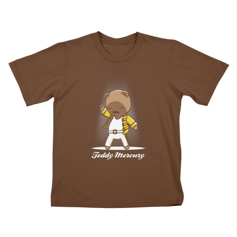 Teddy Mercury Kids T-shirt by fuacka's Artist Shop