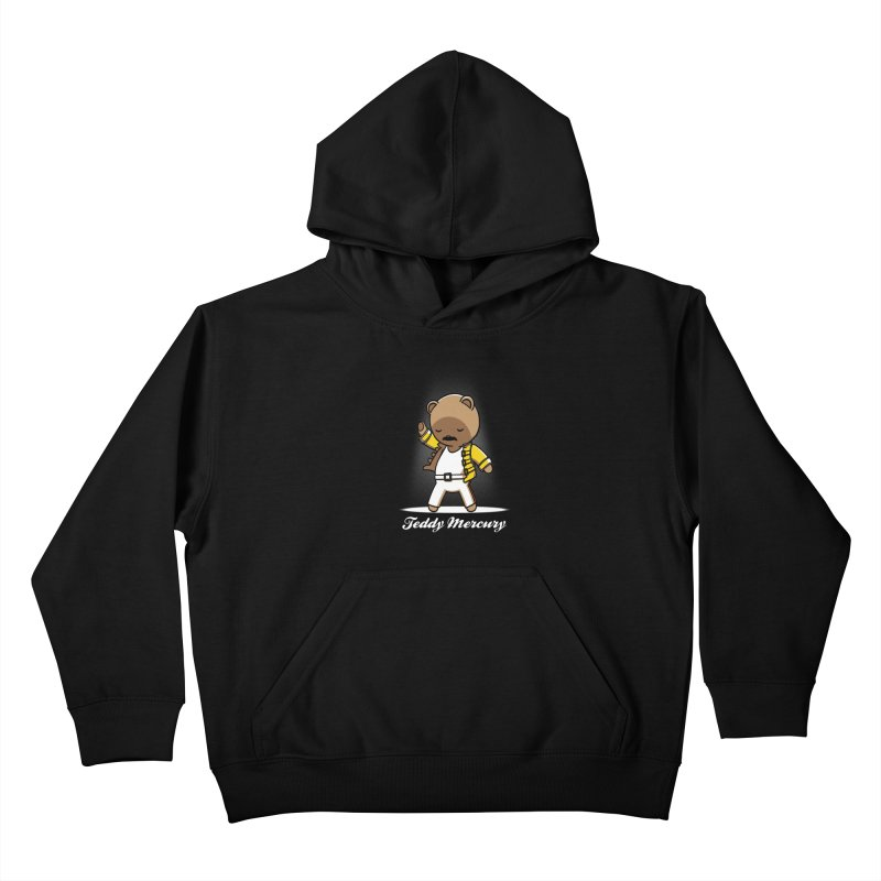 Teddy Mercury Kids Pullover Hoody by fuacka's Artist Shop