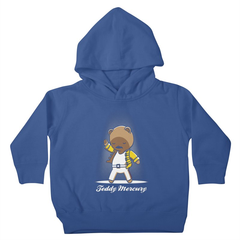 Teddy Mercury Kids Toddler Pullover Hoody by fuacka's Artist Shop