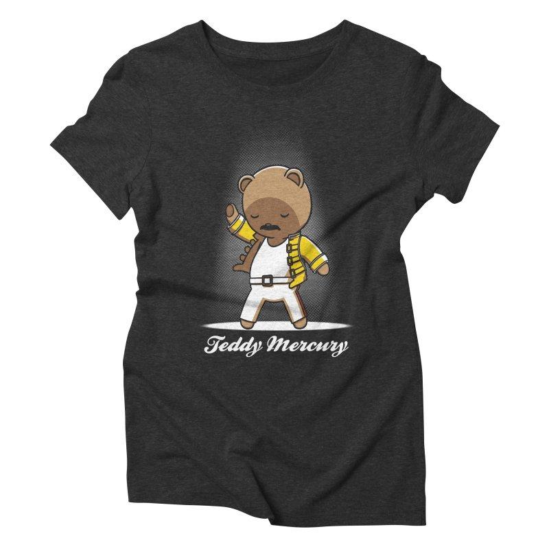 Teddy Mercury Women's Triblend T-Shirt by fuacka's Artist Shop
