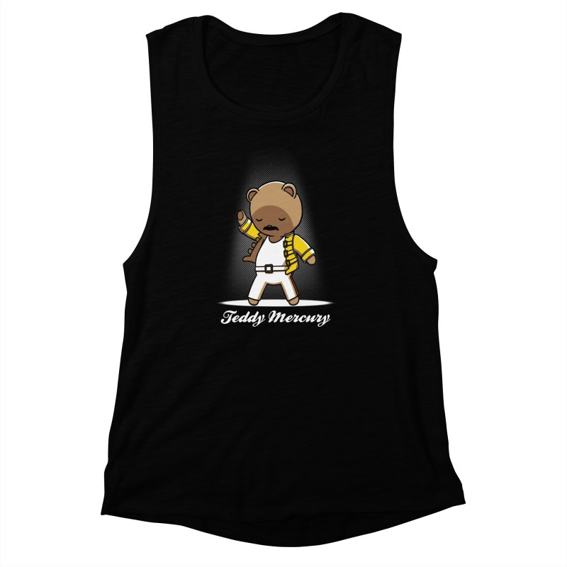 Teddy Mercury Women's Muscle Tank by fuacka's Artist Shop