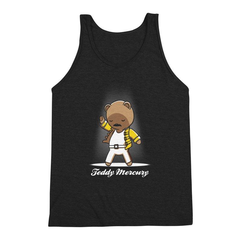 Teddy Mercury Men's Triblend Tank by fuacka's Artist Shop
