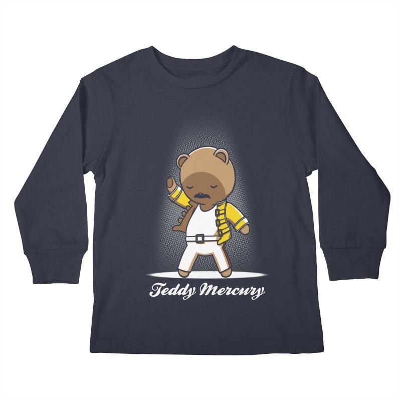 Teddy Mercury Kids Longsleeve T-Shirt by fuacka's Artist Shop