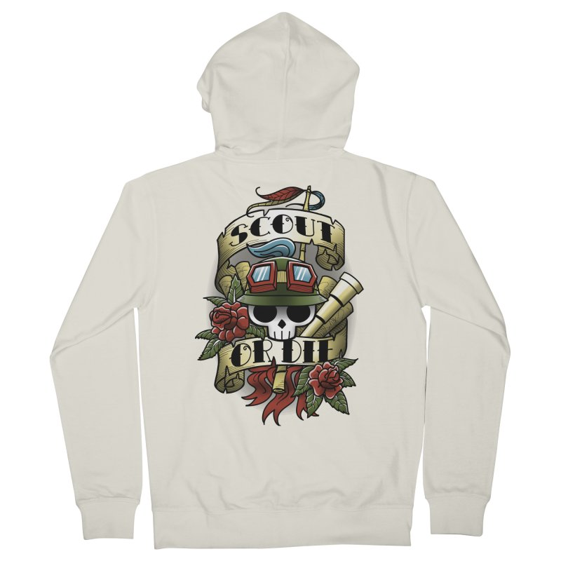On Duty Women's Zip-Up Hoody by fuacka's Artist Shop