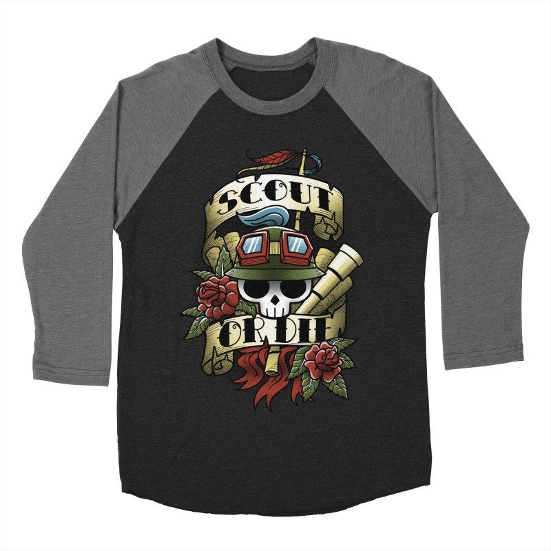 On Duty Women's Baseball Triblend T-Shirt by fuacka's Artist Shop