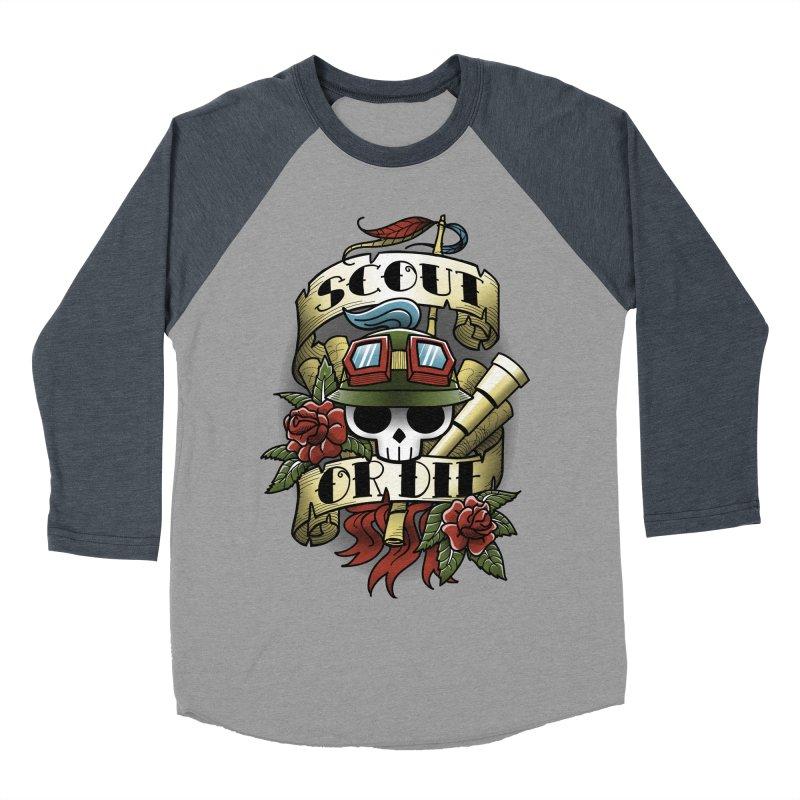 On Duty Men's Baseball Triblend T-Shirt by fuacka's Artist Shop