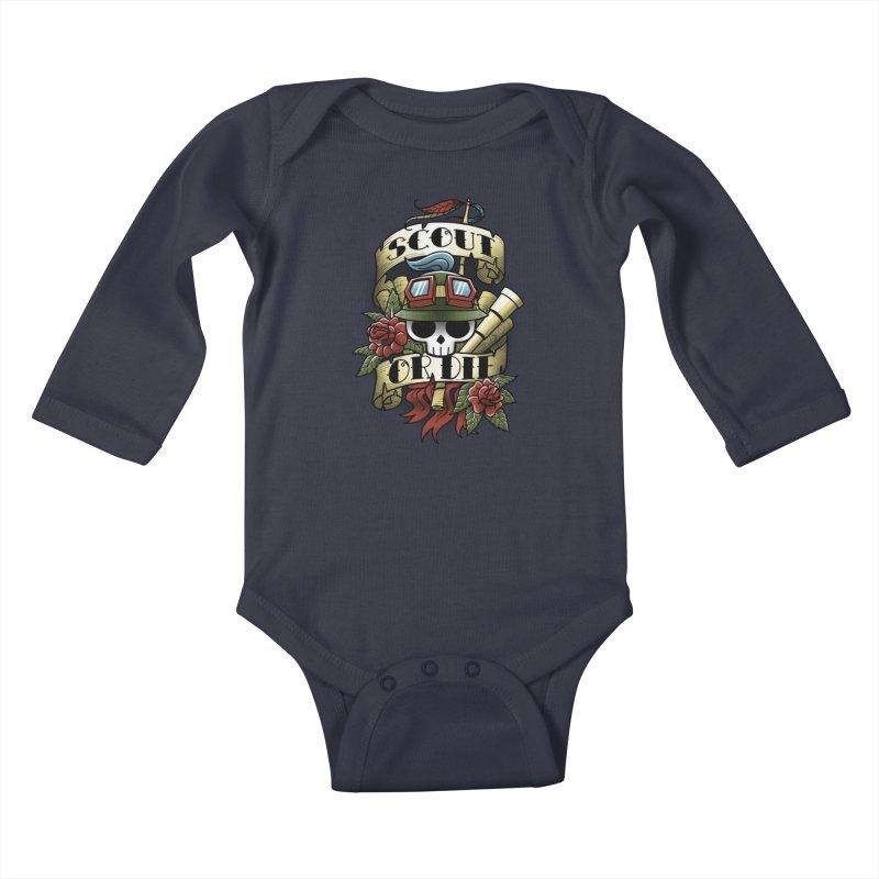 On Duty Kids Baby Longsleeve Bodysuit by fuacka's Artist Shop