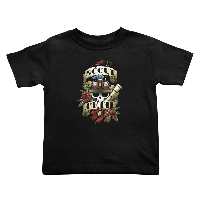 On Duty Kids Toddler T-Shirt by fuacka's Artist Shop
