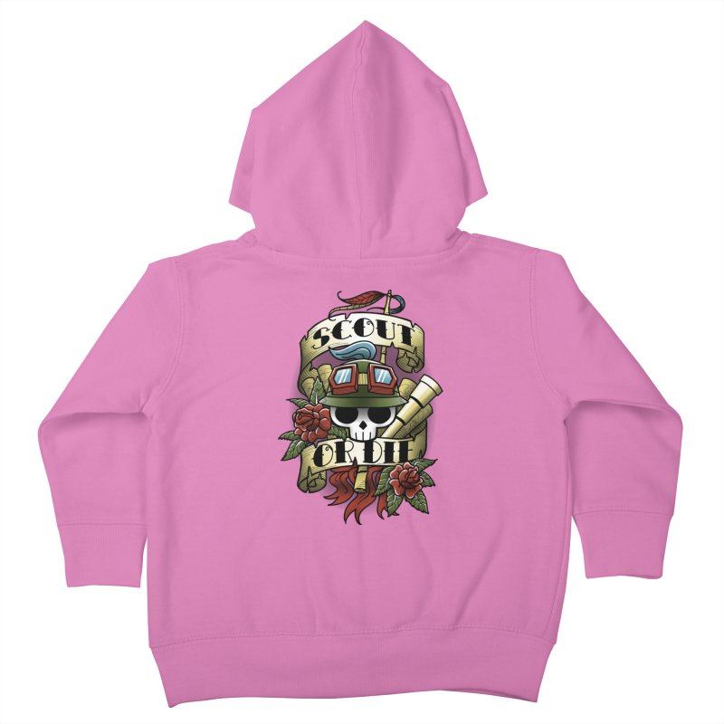 On Duty Kids Toddler Zip-Up Hoody by fuacka's Artist Shop