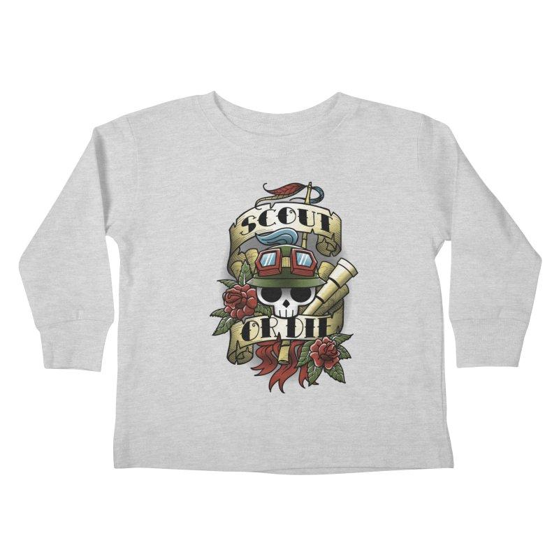 On Duty Kids Toddler Longsleeve T-Shirt by fuacka's Artist Shop