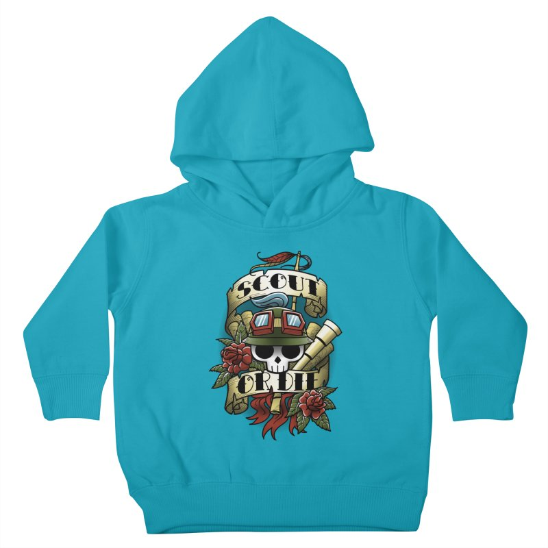 On Duty Kids Toddler Pullover Hoody by fuacka's Artist Shop