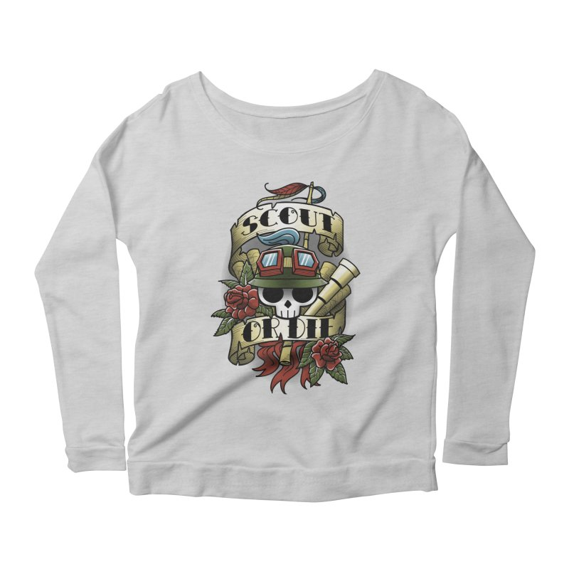 On Duty Women's Longsleeve Scoopneck  by fuacka's Artist Shop