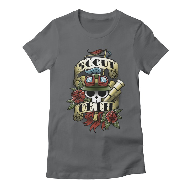 On Duty Women's Fitted T-Shirt by fuacka's Artist Shop