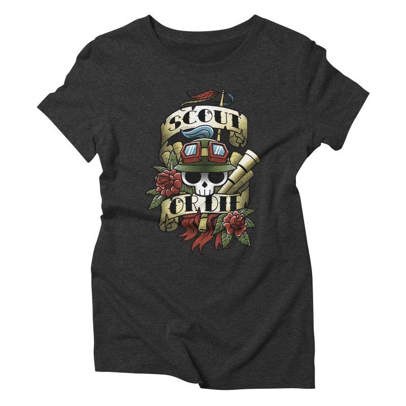 On Duty Women's Triblend T-shirt by fuacka's Artist Shop