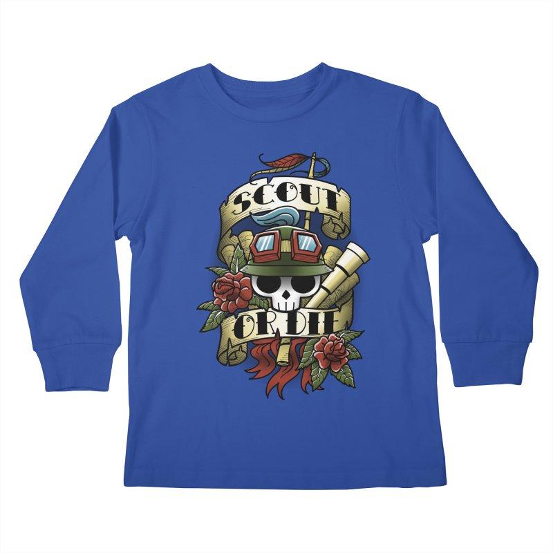 On Duty Kids Longsleeve T-Shirt by fuacka's Artist Shop