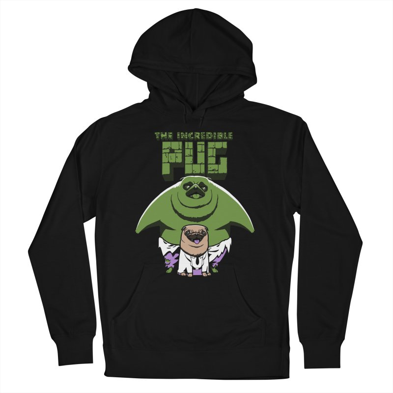 The Incredible Pug Women's Pullover Hoody by fuacka's Artist Shop