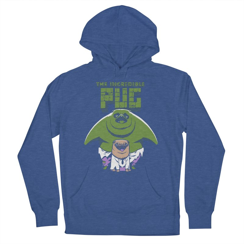 The Incredible Pug Men's Pullover Hoody by fuacka's Artist Shop
