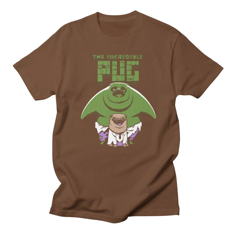 The Incredible Pug Men's T-Shirt by fuacka's Artist Shop