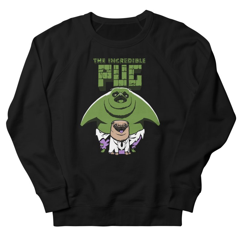The Incredible Pug Men's Sweatshirt by fuacka's Artist Shop
