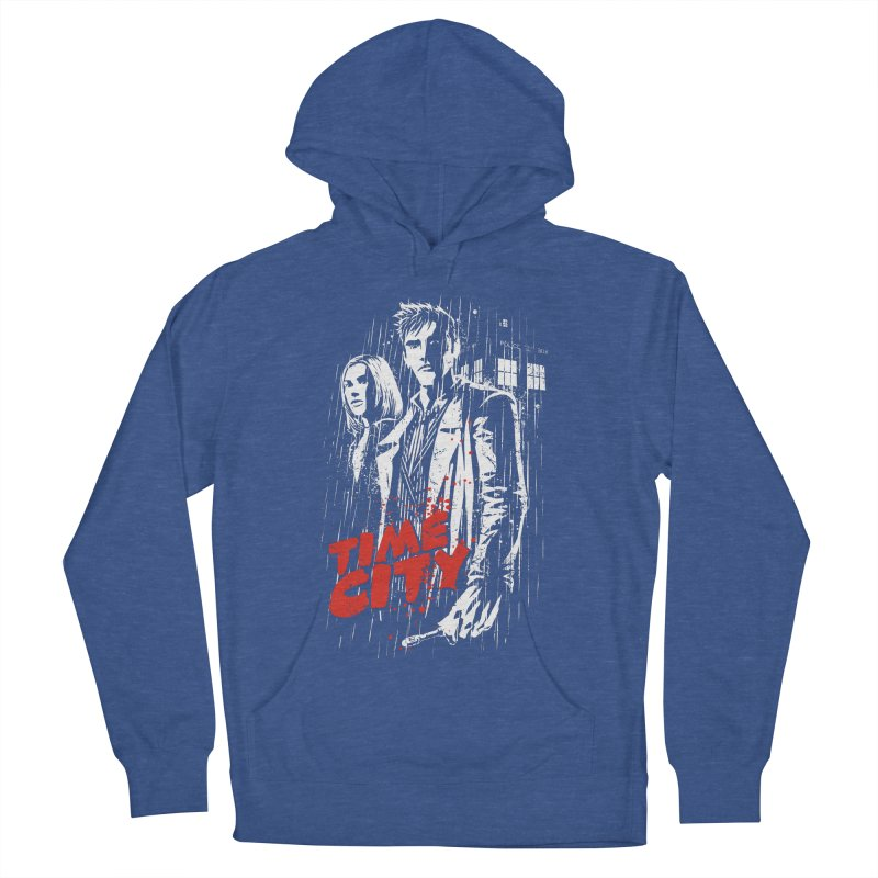 Time City Men's Pullover Hoody by fuacka's Artist Shop