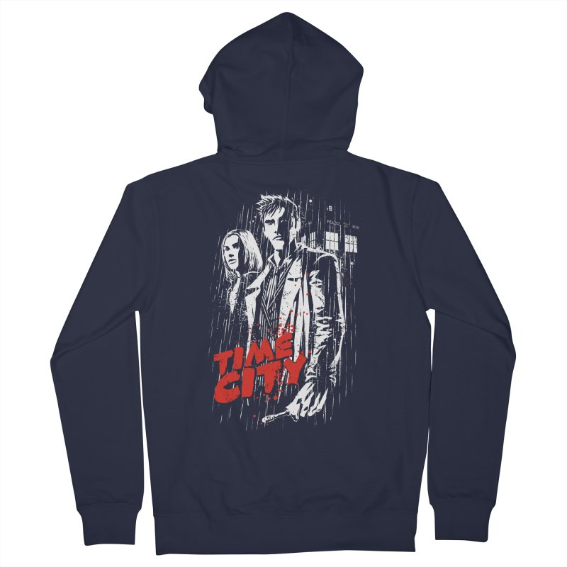 Time City Women's Zip-Up Hoody by fuacka's Artist Shop