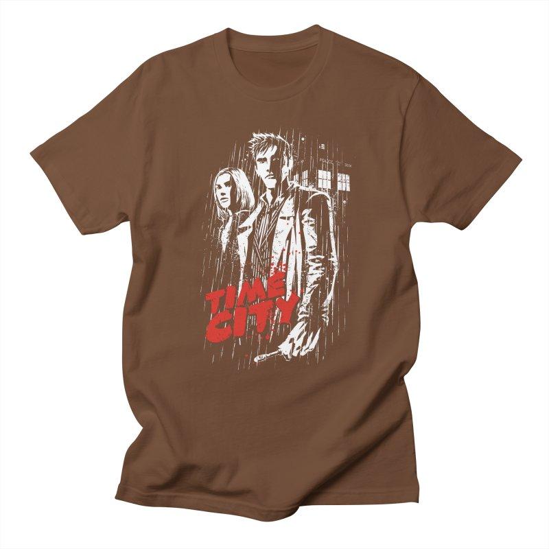 Time City Men's T-Shirt by fuacka's Artist Shop
