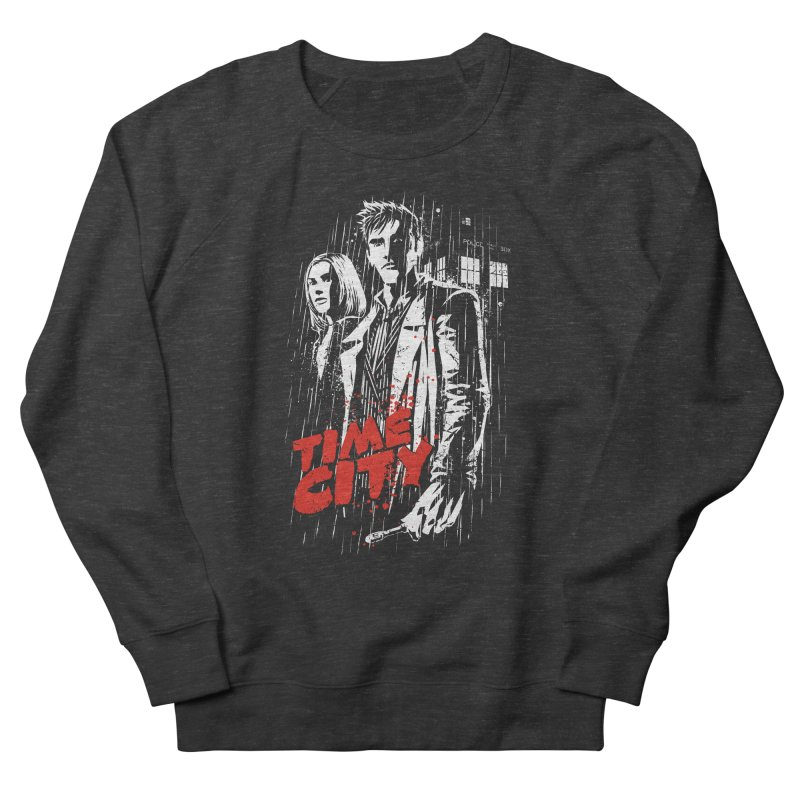 Time City Men's Sweatshirt by fuacka's Artist Shop