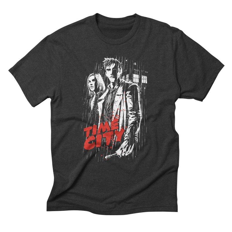 Time City Men's Triblend T-Shirt by fuacka's Artist Shop