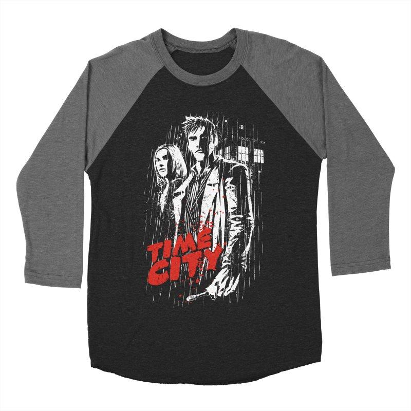Time City Men's Baseball Triblend T-Shirt by fuacka's Artist Shop